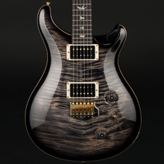 PRS Custom 22 10 Top in Charcoal with Pattern Neck, Hybrid Hardware, 85/15 Pickups #255526