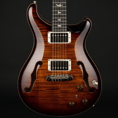 PRS HollowBody II Piezo 10 Top/Back in Black Gold Burst with 58/15 Pickups #255926