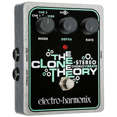 Electro Harmonix Stereo Clone Theory Analog Chorus/Vibrato Pedal