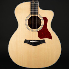 Taylor 214ce Koa/Sitka Grand Auditorium Cutaway, ES2 with Hard Bag #2106228571