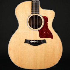 Taylor 214ce-K DLX Koa Grand Auditorium Cutaway, ES2 with Case #2105108297