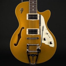 Duesenberg Starplayer TV Gold Top with Hard Case #182173