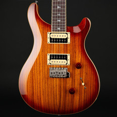 PRS SE Custom 24 Exotic Top in Zebrawood/Vintage Sunburst #S11816