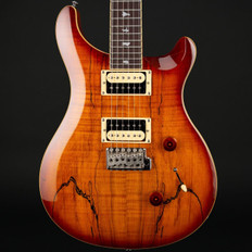 PRS SE Custom 24 Exotic Top in Spalted Maple/Vintage Sunburst #S14982