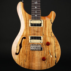 PRS SE Custom 22 Semi-Hollow Exotic Top in Spalted Maple/Natural #S10852