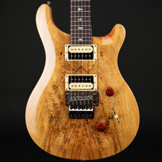 PRS SE Floyd Custom 24 Exotic Top in Spalted Maple/Natural #S11136