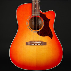 Gibson Acoustic 2019 Hummingbird Mahogany Avant Garde in Light Cherry Burst #12008051