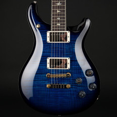 PRS McCarty 594 10-Top in Custom Colour Blue with Stained Flame Maple Neck #258460