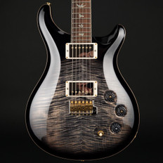 PRS DGT Wood Library 10 Top in Charcoal Burst with Stained Flame Maple Neck #252731