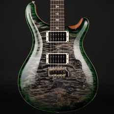 PRS Custom 24 in Charcoal Jade Burst with Pattern Thin Neck, 85/15 Pickups #259552