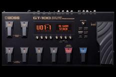 Boss GT-100 Guitar Multi Effects Pedal - As New, Open Box