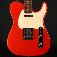 G&L USA Fullerton Deluxe Asat Classic in Fullerton Red with OHSC #CLF58962 - Pre-Owned
