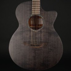 Faith Naked Venus Cutaway Electro Acoustic in Black Stain