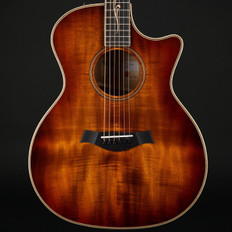 Taylor K24ce V-Class Koa Grand Auditorium Cutaway, ES2 with Case #1112138132