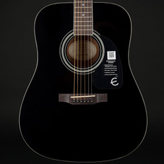 Epiphone DR-100 Dreadought Acoustic Guitar in Ebony