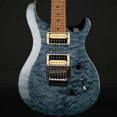 PRS SE Floyd Custom 24 Quilt with Torrified Maple Neck in Whale Blue #T01146