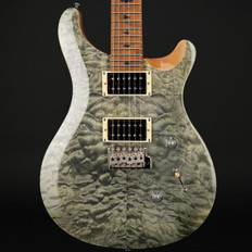 PRS SE Custom 24 Quilt with Torrified Maple Neck in Trampas Green #S22684