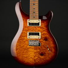 PRS SE Custom 24 Quilt with Torrified Maple Neck in Tobacco Sunburst #T01899