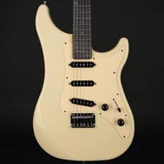 Vigier Expert Retro '54 in Retro White with Velour Noir Stained Maple Neck with Case #180321