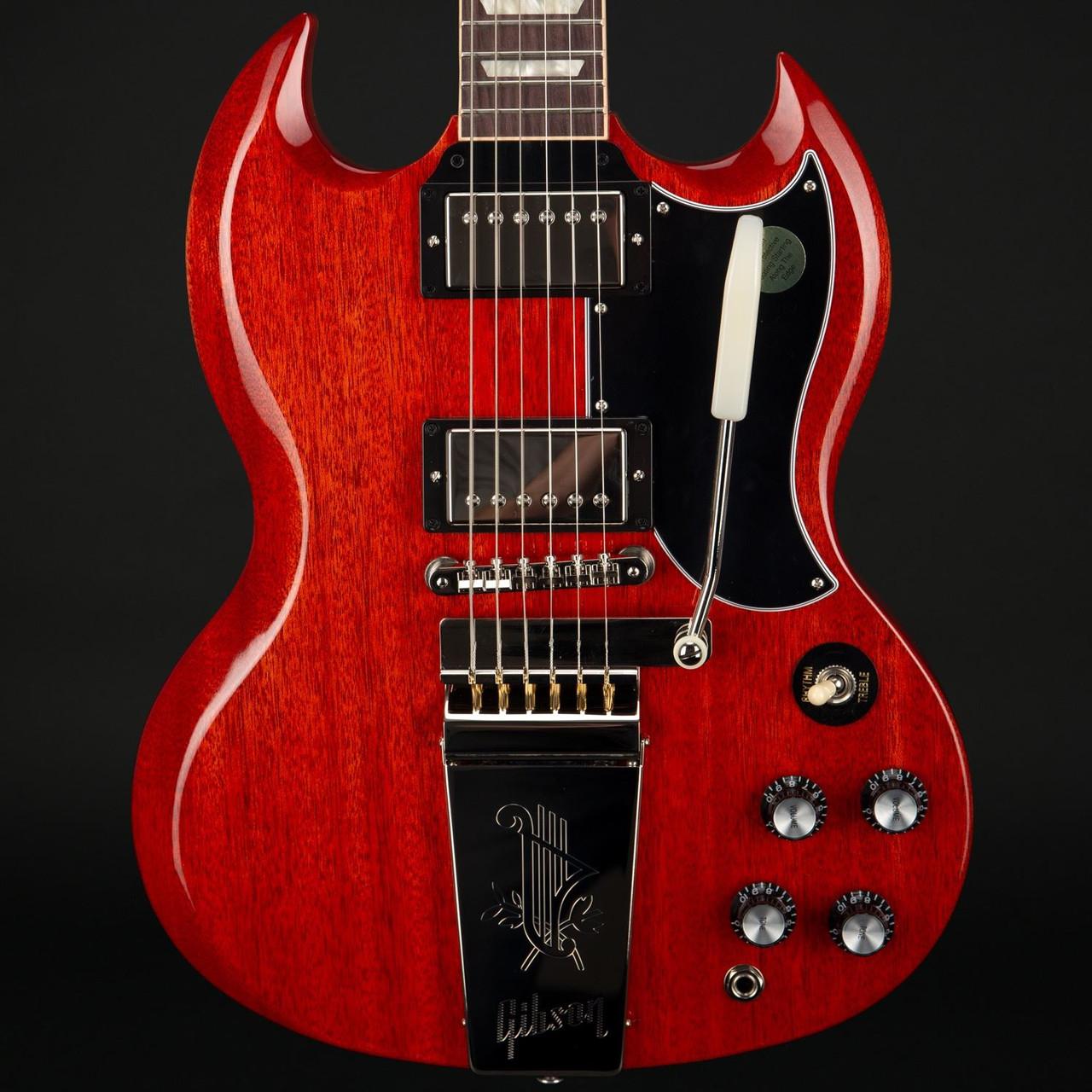 Gibson SG Standard '61 w/Maestro Vibrola in Vintage Cherry #105290109