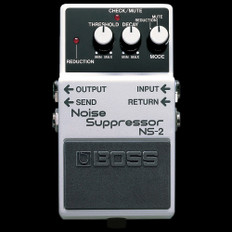 Boss NS-2 Noise Suppressor Noise Gate Effects Pedal