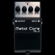 Boss ML-2 Metal Core Guitar Effects Pedal