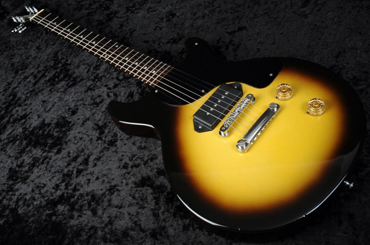 Gibson Les Paul Junior Double Cut 1987 - Tobacco Sunburst