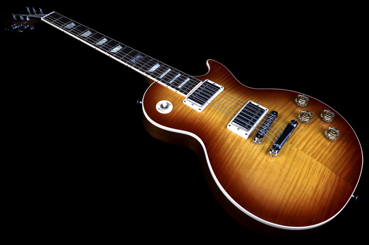 Gibson Les Paul Standard Plus 120th Anniversary In Honeyburst With Wiring Kit High End Switch Spec Image 4