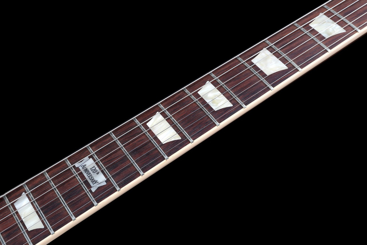 Gibson Les Paul Standard Plus 120th Anniversary In Honeyburst With Wiring Kit High End Switch Spec Image 6
