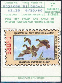 Tennessee Duck Stamp 1979 Mallards