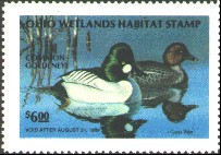 Ohio Duck Stamp 1988 Goldeneye