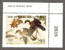 Ohio Duck Stamp 1982 Wood Ducks Artist Corner