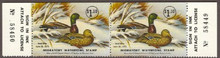 Maryland Duck Stamp 1974 Mallards Horizontal Pair with serial numbers