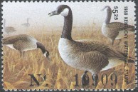 Kentucky Duck Stamp 1988 Canada Geese