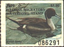 Illinois Duck Stamp 1979 Pintail