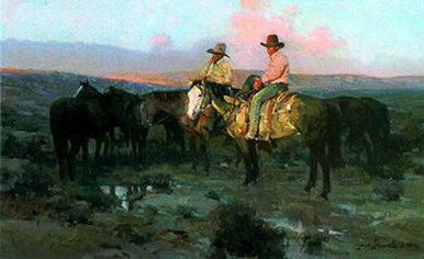 Arizona Cowboys by James Reynolds