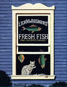 Lick`n Whiskers by Tom Neel