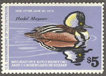 Federal Duck Stamp RW45 ( 1978 Merganser )