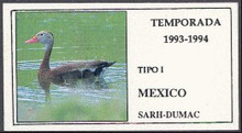 Mexico Duck Stamp 1993 Fulvous Whistling Duck