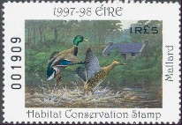 Ireland Duck Stamp 1997 Mallards