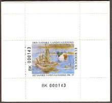 Denmark Duck Stamp 1996 Shoveler Booklet type