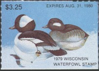 Wisconsin Duck Stamp 1979 Buffleheads