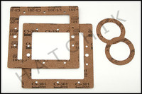 L4178 OLYMPIC WALL SKIMMER & RETURN FITTING GASKET SET  UNI-83
