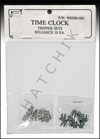 M2013 TIME CLOCK TRIPPERS SET OF ON/OFF LEN GORDON (1-GRAY AND 1 BLACK)
