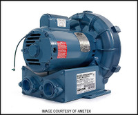 M2019 ROTRON COMMERCIAL AIR BLOWER 2 HP (DR505AW58M)**SEE NOTES**