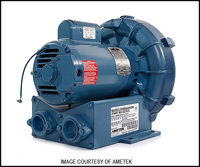 M2024 ROTRON COMMERCIAL AIR BLOWER 1-1/2 HP (DR454V58)*SEE NOTES*