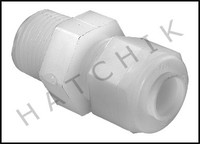 C1095 POLY FITTING 3/8