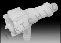 "A2327 FLOW SPIGOT 1/2"" / PPG FEEDER HD POLYETHYLENE"