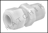 C1100 POLY FITTING 1/2