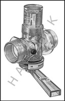 C1215 DIVERT-A-TROL #6063 MALE THR. VALVE ASSEMBLY